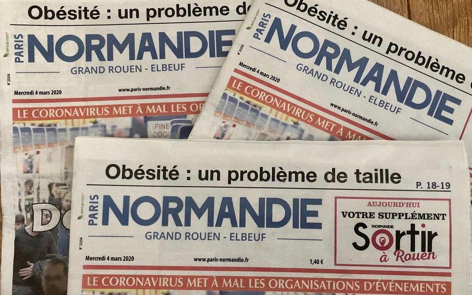 Interview de Sylvaine GREMONT dans Paris Normandie